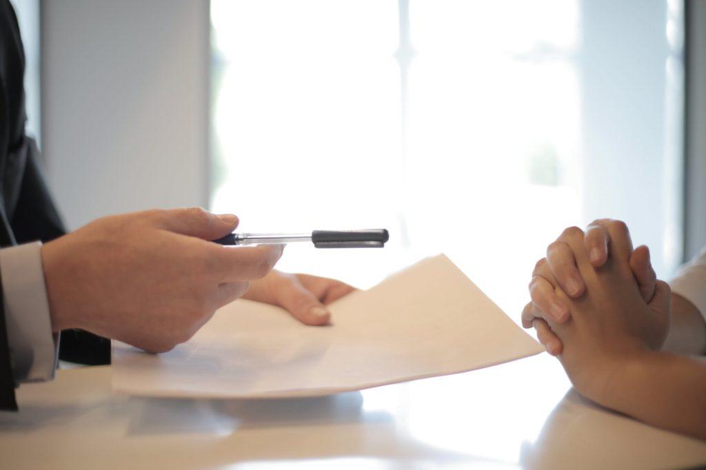 Image d'un entretien avec un juriste