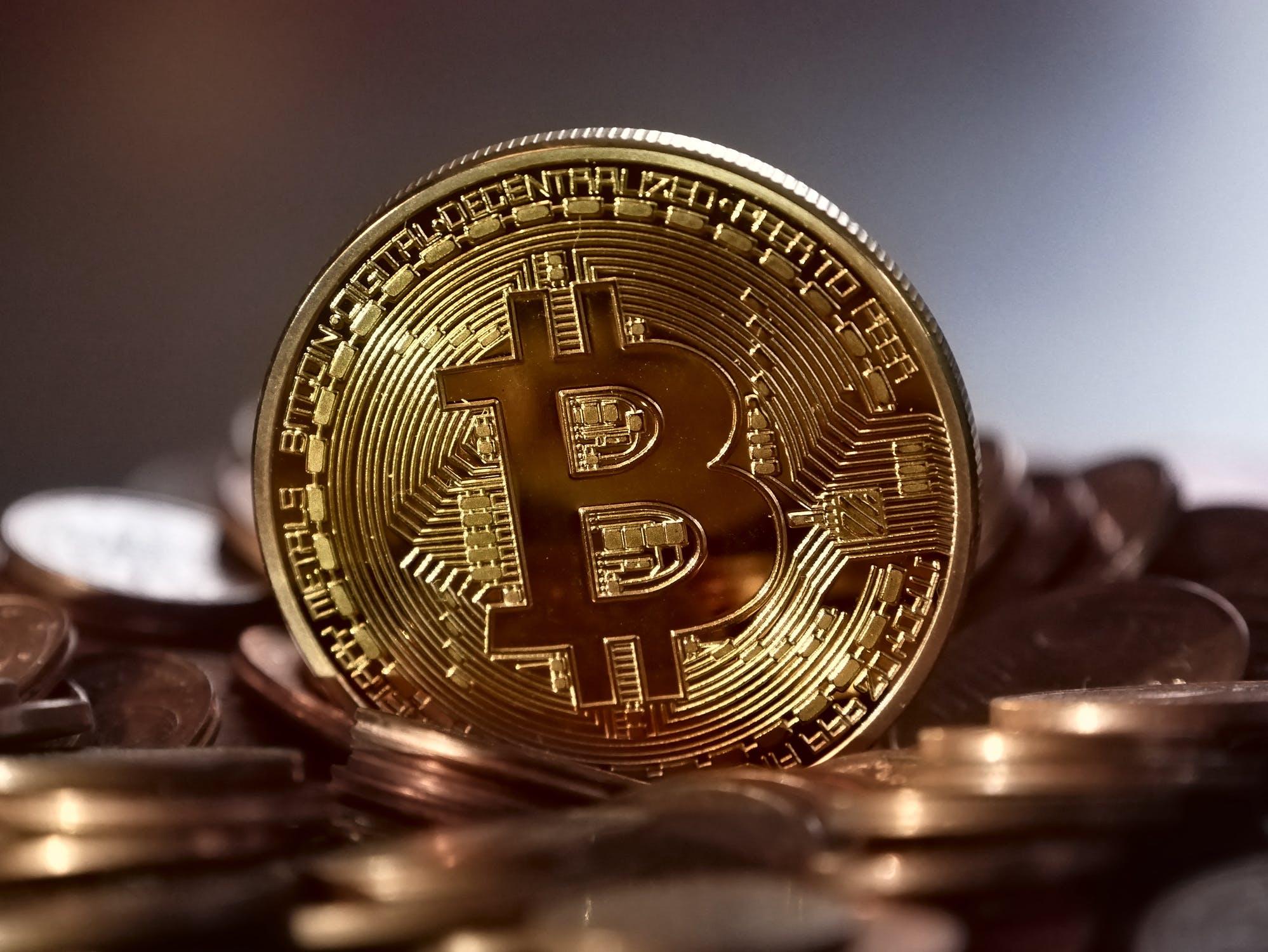 Image d'illustration d'un bitcoin